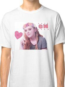 Claire Novak + Flower Crown Classic T-Shirt