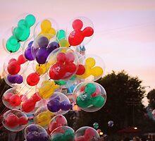 Disneyland Balloons by CarolRay
