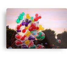 Disneyland Balloons Metal Print