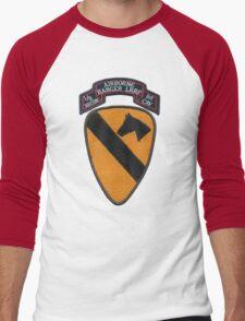 1st Cav ranger,airborne,LRRP patch Men's Baseball ¾ T-Shirt