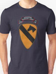 1st Cav ranger,airborne,LRRP patch Unisex T-Shirt