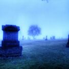 A Foggy Day in the Cemetery by Terence Russell