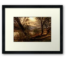 Sneak a Peek at the Snake River  Framed Print