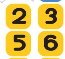 Calculator fun Sticker