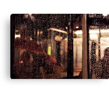 Rain Gap Canvas Print