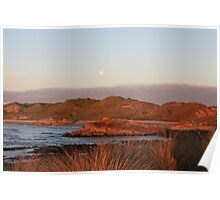 Nettley Bay at sunset Poster