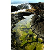 Private Beach - Hilo, Hawaii Photographic Print