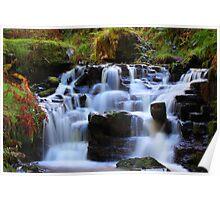 Talybont Waterfalls Poster