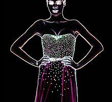 High Fashion Dress Fine Art Print by stockfineart