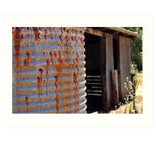 Rusty Water Tank # 2 Art Print