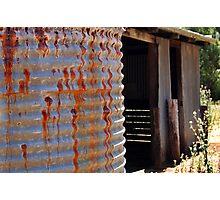 Rusty Water Tank # 2 Photographic Print