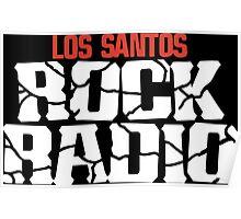 Los Santos Rock Radio Poster