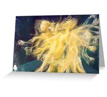 dancer in las vegas. 16''x12''. oil on canvas. adam sturch Greeting Card