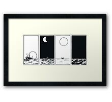 """VIKINGS """"night and day"""" Framed Print"""