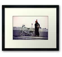 Catalan Wool Knit Hat Framed Print