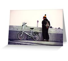 Catalan Wool Knit Hat Greeting Card