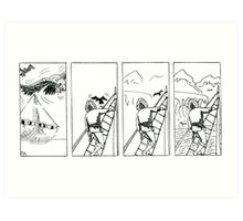 "VIKINGS ""the land"" Art Print"
