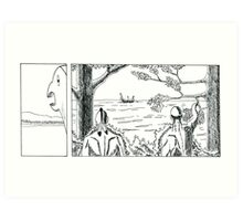 "VIKINGS ""the strangers"" Art Print"