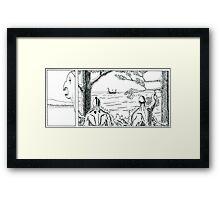 """VIKINGS """"the strangers"""" Framed Print"""
