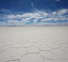 Uyuni Salt Flat by miall
