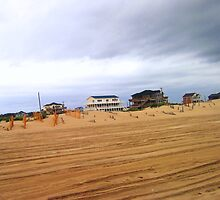 Houses in the sand by lingo