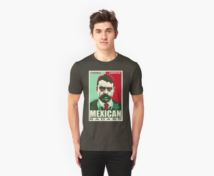 MEX BAD ZAPATA by Roger  Maldonado