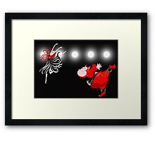 Beauty and the Beast, off Broadway Framed Print