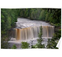Upper Tahquamenon Falls #4  Poster