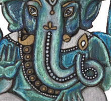 Ganesha Tee Sticker
