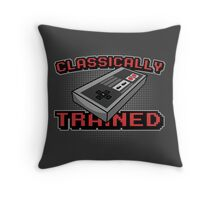 Classically Trained! Throw Pillow