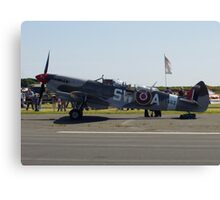 Spitfire 2 seater! Canvas Print