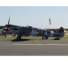 Spitfire 2 seater! Photographic Print