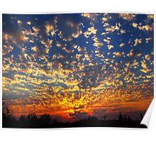 Oregon Sunset Poster