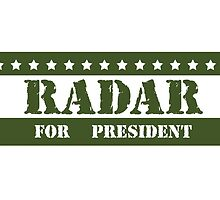 For President Radar by ImagineThatNYC
