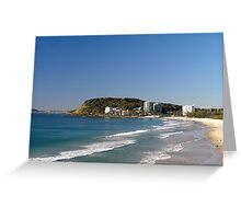 Burleigh Heads - Gold Coast - Australia Greeting Card