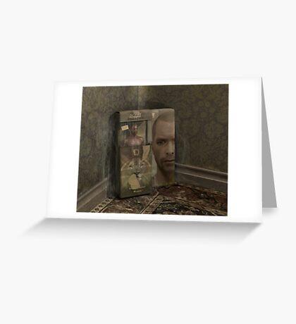 Agent Blackjack: M.I.A Greeting Card