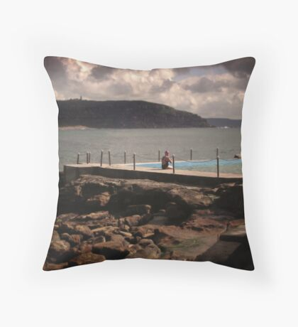 Rockpool. Throw Pillow