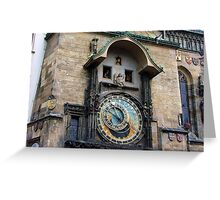 Prague - Old Town Hall Tower & Astronomical Clock Greeting Card