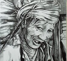 old age. 11''x17''. graphite on paper. adam sturch. by adam sturch
