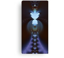 The Fractal Stairway to Paradise Canvas Print