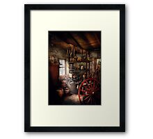 Black Smith - You thought your shop was messy Framed Print