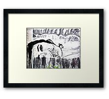 Graffiti Street Art #3 Framed Print