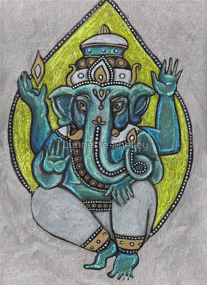 Ganesha by Lynnette Shelley