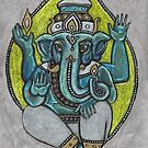 Ganesha by Lynnette Shelley