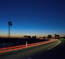 Country Road by Ashraf Saleh