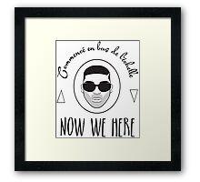 NSL Drake Framed Print