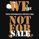 NOT FOR SALE by myREVolution