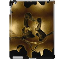 Ducks -Quality time-  Art + Products Design  iPad Case/Skin