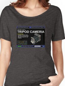 Dorthea Lange's Tripod Camera Women's Relaxed Fit T-Shirt