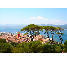 Postcard from Saint Tropez, Southern France Photographic Print